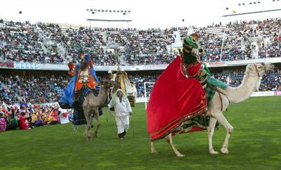 Los Reyes Magos Teneriffa, Santa Cruz