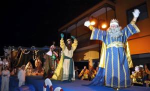 Los Reyes Magos på Teneriffa