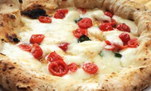 Pizza på La Piazzetta Teneriffa