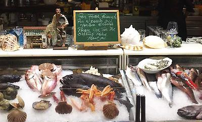 Fisk och skaldjur på La Vieja Teneriffa