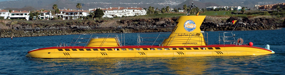 Ubåt på Teneriffa