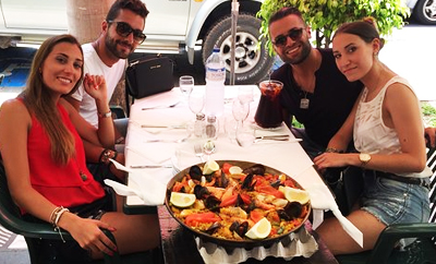 Raymonds Restaurang - Paella på Teneriffa