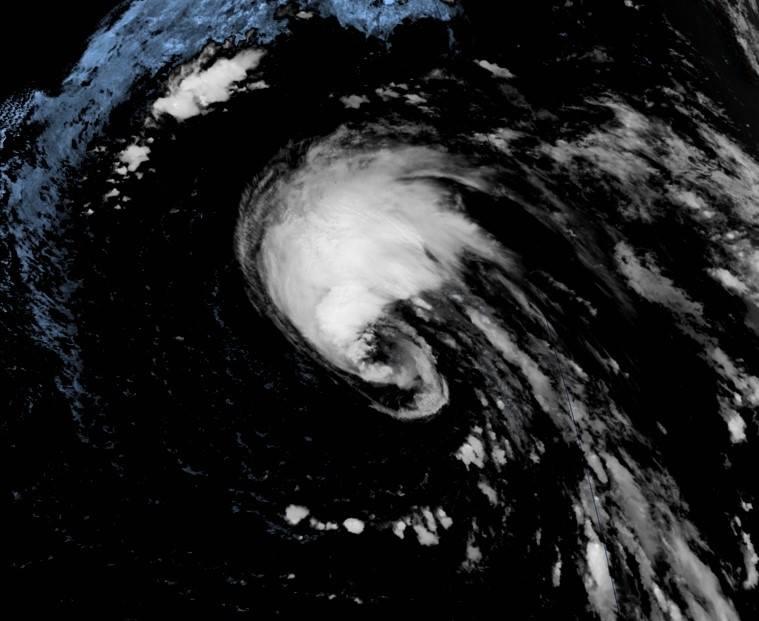 Orkan närmar sig Teneriffa